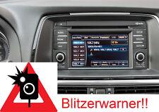 Mazda Navigationsgerät Blitzerwarner Radarwarner immer Aktuell !NEU