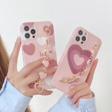 Keychains Phone case For iPhone 12 mini max 11 pro xs max xr 7G 8 plus Girl Gift