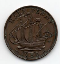 Great Britain - Engeland - 1/2 Penny 1950
