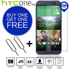 100% Genuine Tempered Glass LCD Screen Protector Film For HTC One M9