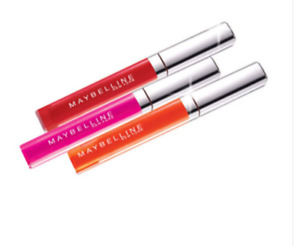 Maybelline Colorsensational shine gloss Various shades