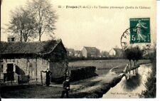 (S-39662) FRANCE - 62 - FRUGES CPA PECHEUR A LA LIGNE PETIT PLAN     BOULANGER P
