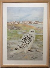 GYR FALCON Rare SCOTT GARRIOTT Canadian Artist Signed Early LTD Ed Print 16/250