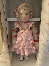 "Shirley Temple Danbury Mint Dolls of the Silver Screen Littlest Rebel 14"" Nib"