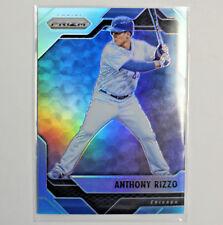 2017 PANINI PRIZM BASEBALL BLUE REFRACTOR ANTHONY RIZZO CHICAGO #'d/299   C7
