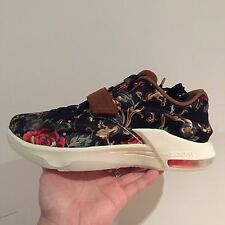 NIKE KD VII EXT Floreale QS Midnight Navy Mens Basketball Scarpe Da Ginnastica UK 7 US 8 UE 41