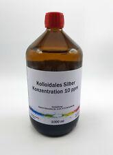 1000 ml Kolloidales Silber 10 ppm, Silberwasser, immer frisch hergestellt