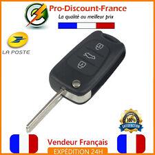Coque Clé Pour Hyundai I10 I20 I30 I40 IX35 KIA Sportage Soul Rio Boutons Lame .