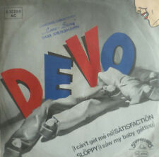 "7"" 1978 CV ROLLING STONES VG+++ ! DEVO : Satisfaction"