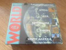 Discover World - 5CD's Capturing the Diverse Sounds of World Music - new