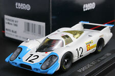 EBBRO 43749 1:43 SCALE PORSCHE 917 LONG TAIL LE MANS 1969 DIE CAST NO MINICHAMPS