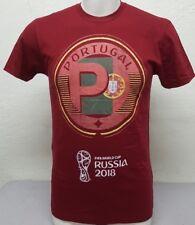 e627230a20 Portugal Men s Small T-shirt 100% Cotton FIFA World Cup Russia 2018