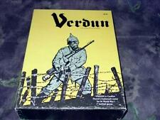 Conflict Games 1973 (yellow edt) VERDUN - A Dagger at the Heart of France WW1