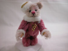 "World of Miniature Bears 4"" Mohair Bear Cynthia #955 Collectible Bear"