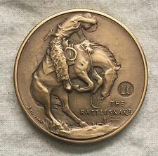 "MACO. Frederic Remington ""The Rattlesnake"" Medal, 1971"