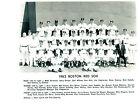 1962 BOSTON RED SOX TEAM 8X10 PHOTO YASTRZEMSKI PESKY BASEBALL HOF USA