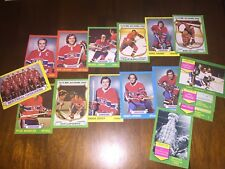 1973-74 Topps Hockey Montreal CANADIANS team set (16 cards) Ken Dryden