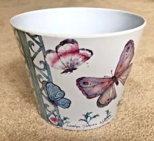 Girls Waste Paper Rubbish Basket by Carolyn Shores Wright Butterfly Office Decor