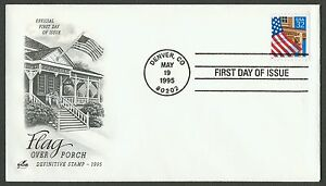 #2916 32c Flag Over Porch, Art Craft FDC ANY 5=