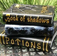 Halloween Book of Spells Shadows Potions Spiders Witch Table Decoration 3 in 1