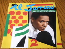 "AL JARREAU - ALL OR NOTHING AT ALL  7"" VINYL PS"