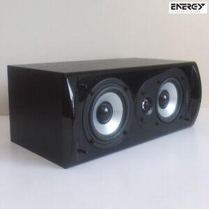 "ENERGY Connoisseur CC-5 center channel speaker—4½"" mid/woofers ¾"" tweeter—superb"
