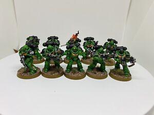 Warhammer 40k Salamanders Primaris Infiltrator Squad Painted New