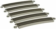 Bachmann Trains Snap-Fit E-Z Track 26� Radius Curved Track 5/card