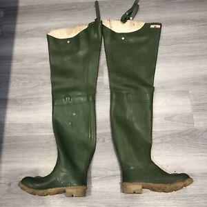 Streamfisher Uniroyal Waders Boots UK6 EU39 Green Fetish Interest