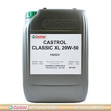 Castrol Classic XL 20W-50 classic engine oil - 20 litres 20L