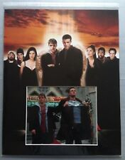 [A0407] Matt Damon Ben Affleck DOGMA Signed 20x16 Inch Display AFTAL
