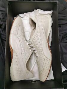 Rare Puma 96 Hours Italian Designer Shoe, Size 7 RRP £220, Off White Cream Beige