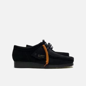 Clarks Originals Wallabee Men's Suede Shoes Black
