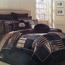 J. Queen New York RAVELLO Black/Gold Embroidered EURO SHAM! NIP! $85! Gorgeous!!