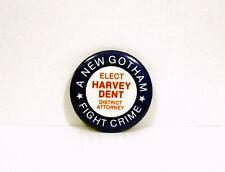 Batman 1989 ELECT HARVEY DENT BLUE Promo Button 1989