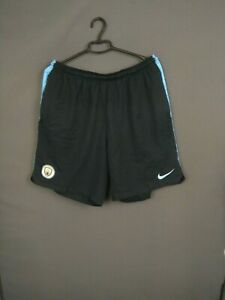 Manchester City Shorts Size XXL Mens Football Soccer Nike 913286-477 ig93