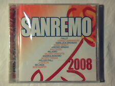 CD Sanremo 2008 AMEDEO MINGHI GIANLUCA GRIGNANI MAX GAZZE' SIGILLATO SEALED!!!