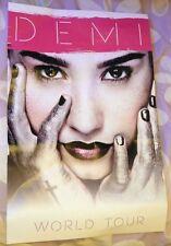 Demi Lovato Brand New Rare VIP Poster Merch Demi World Tour 2014 Meet and Greet