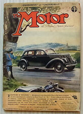 The MOTOR Magazine 15 June 1937 Rover 20 Sports Bianchi