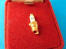 Tiny AC Spark Plug Collar Pin Tie Tack Pin Back Original Vintage Unknown