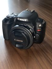 Canon SL2 mint condition with EF-S 24mm 2.8 STM lens.