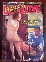 Spicy Detective Sep 1938 Parkhurst Cvr, Norvell Page, Bellem
