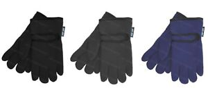 Girls Boys Gloves Childrens Winter Warm Thermal Fleece Lined High Performance