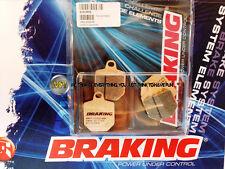 PER KTM SMR 560 2007 07 PASTIGLIE ANTERIORE SINTERIZZATE FRENO BRAKING CM55 SPOR