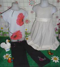 vêtements occasion fille 6 ans,pantacourt ORCHESTRA,t-shirt ZARA,robe LAFAYETTE