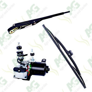 Wiper Motor Kit 12V HD . Suitable For Tractors Diggers Forklifts