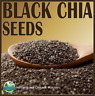 ✅Certified Organic BLACK CHIA SEEDS - Premium Quality - Best Price