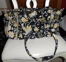 Vera bradley small duffel bag in retired retired Yellow Bird pattern
