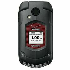 Kyocera DuraXV + E4520 PTT Black (Verizon) 3G Rugged Flip Cell Phone (No Camera)
