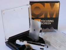 Olympus OM Focus Screen 1-3 New Old Stock -  Boxed